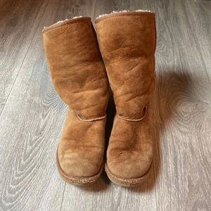 ugg tall chestnut brown boots